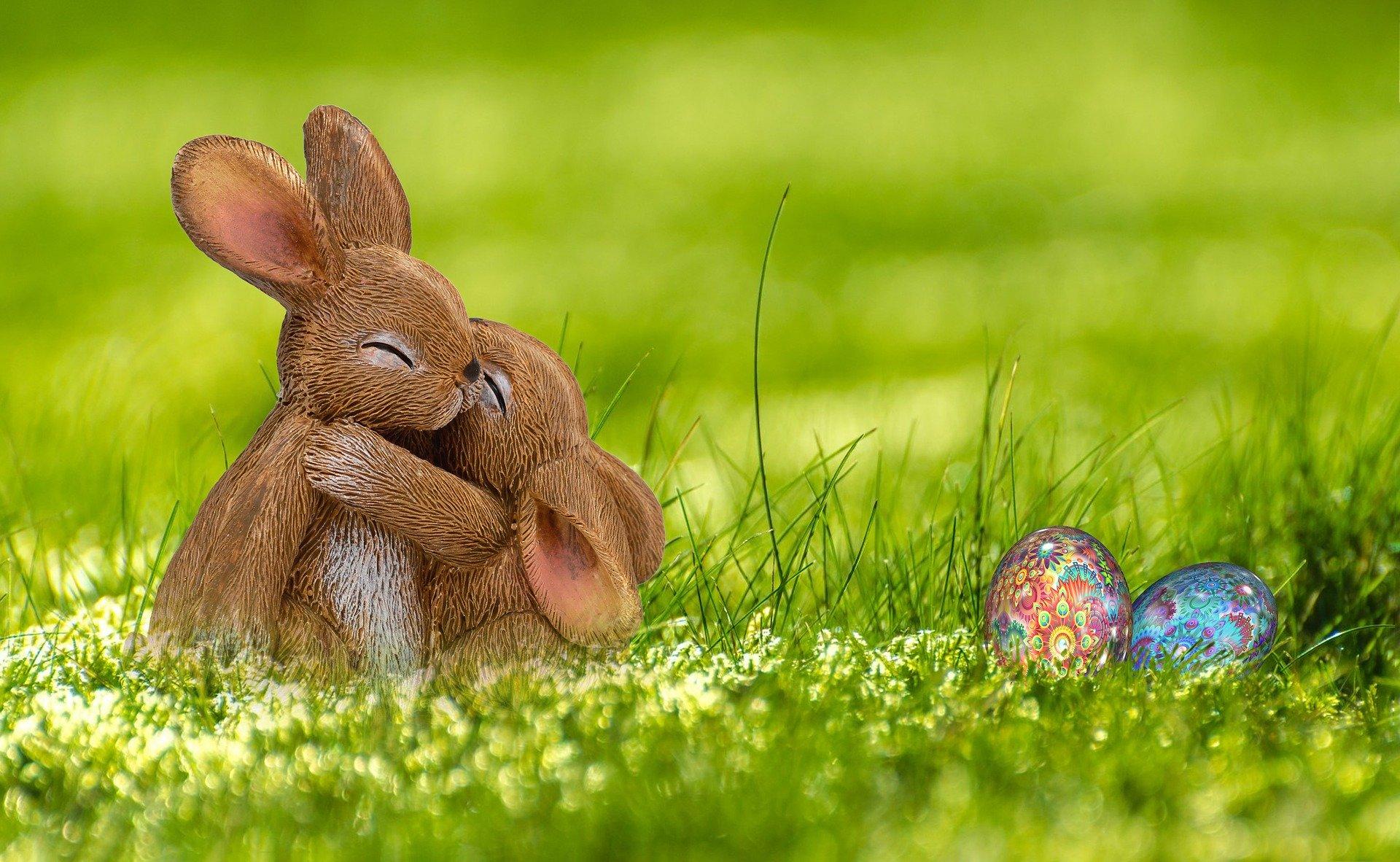 Hipp und Hopp, die Osterhasen