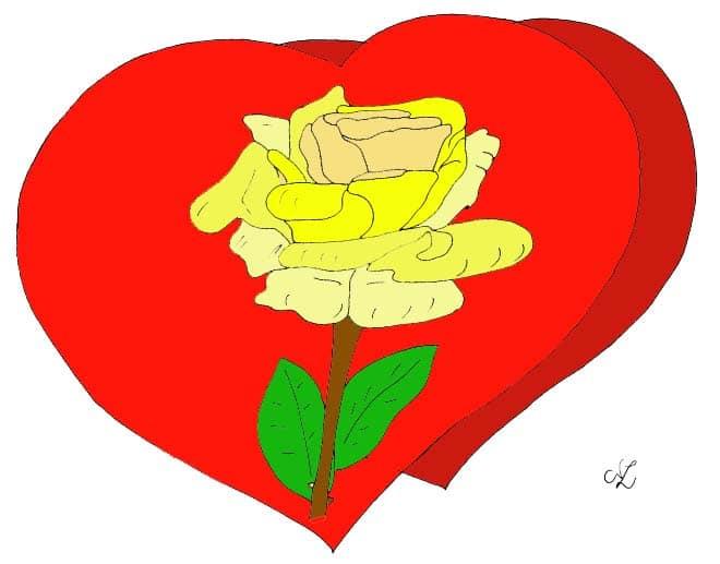 rose im herz | kindergaudi
