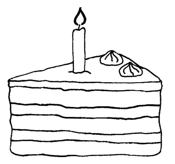 Stück Torte