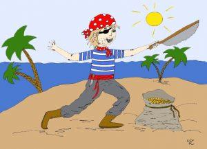 Malvolagen rund um Piraten