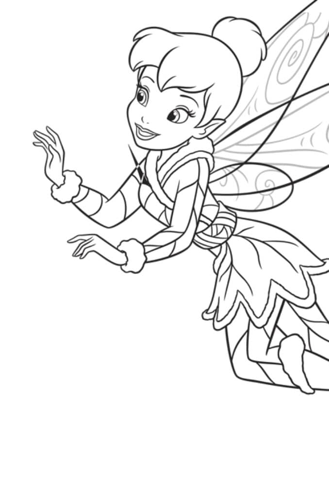 tinkerbell das geheimnis der feenflügel ausmalbilder