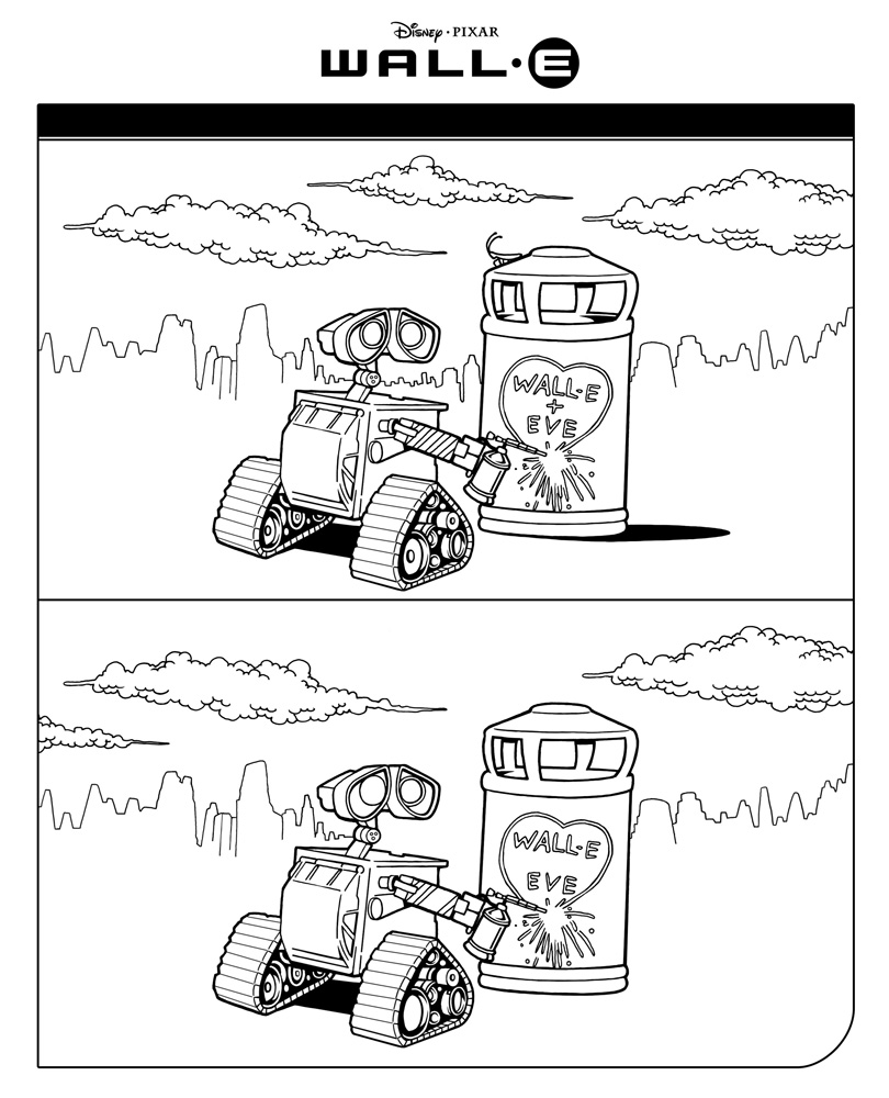 WALL-E Fehlerbild