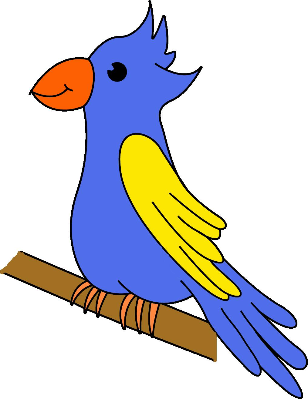 ein süßer papagei  kindergaudi