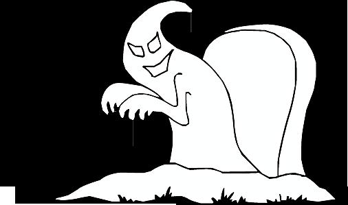 Gespenst aus dem Grabe