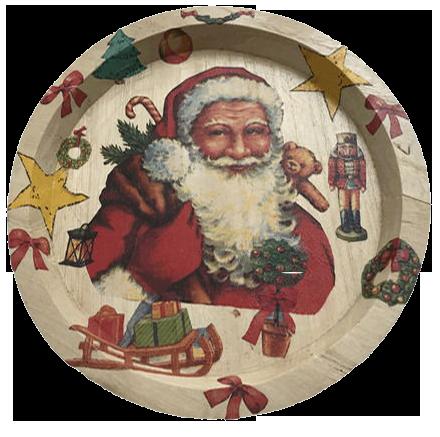 Persönlicher Nikolaus-Teller