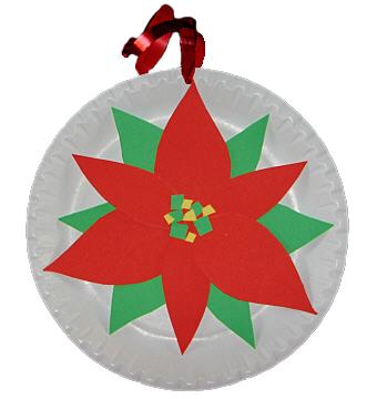 Weihnachtliche Pappteller