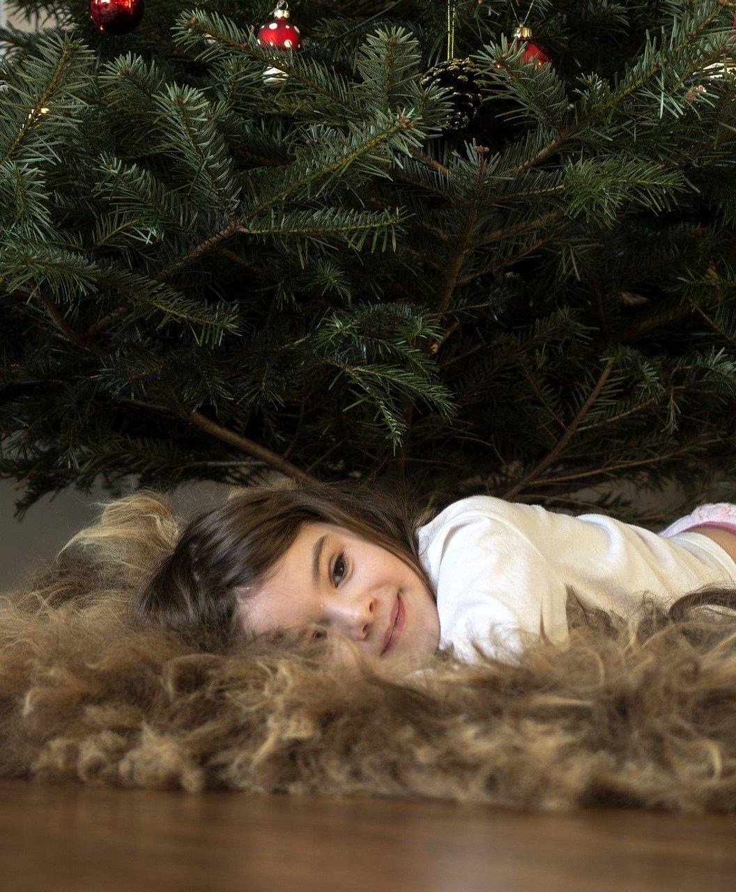 Weihnachtliche Rückenmassage