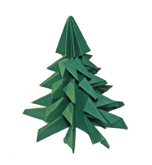 origami tannenbaum  kindergaudi
