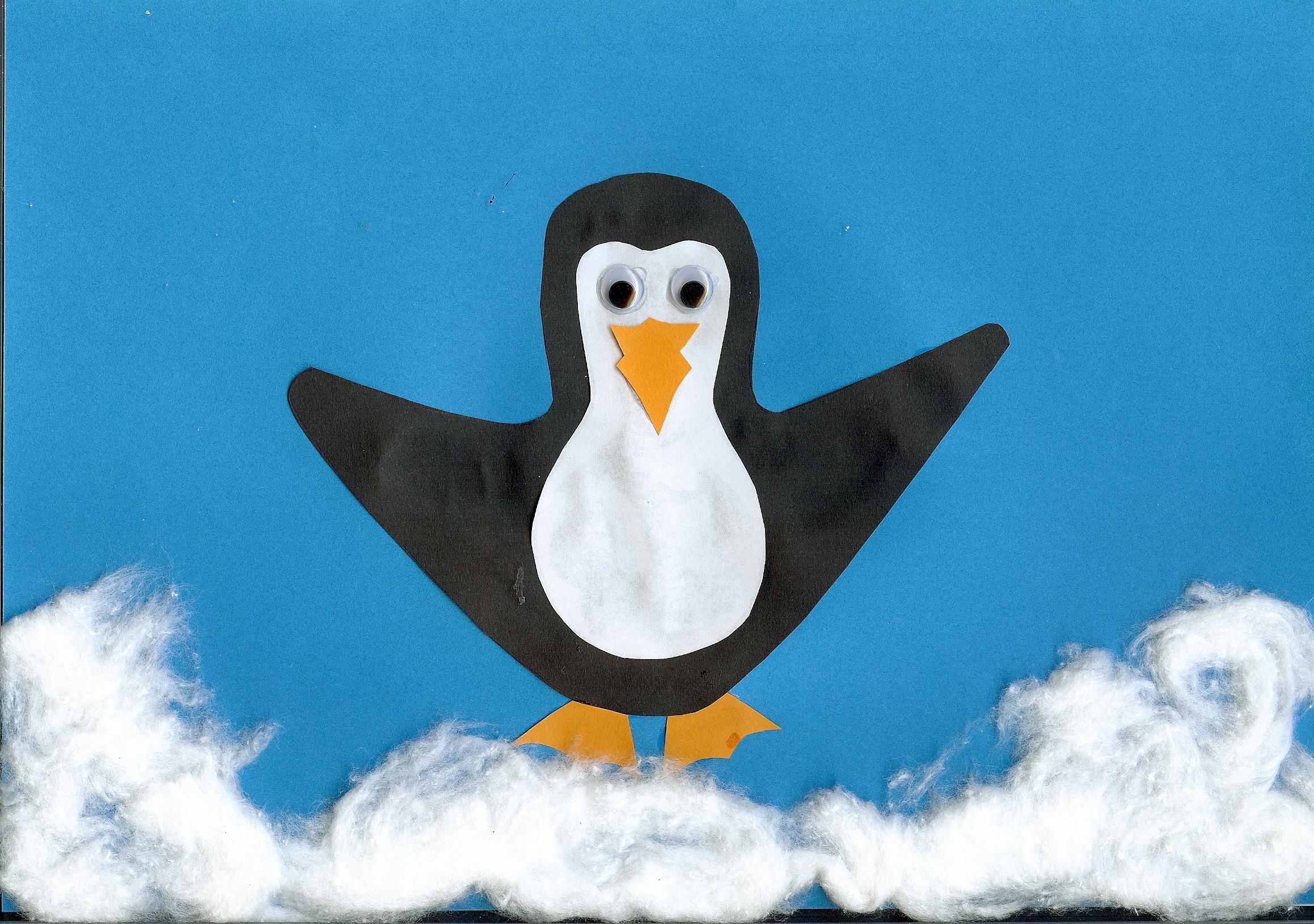 Pinguin-Bild