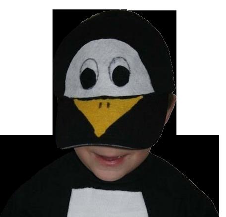 Pinguin-Kopfbedeckung