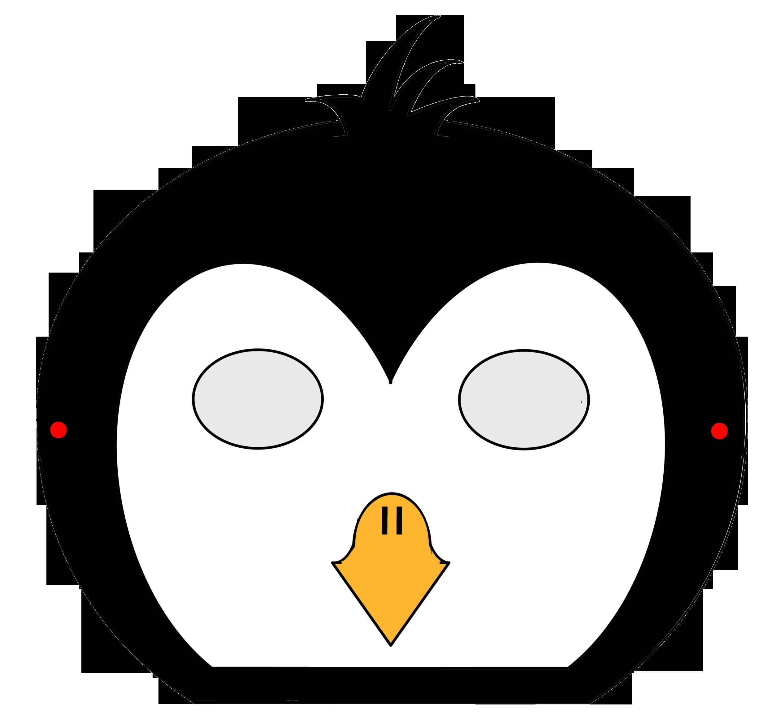 pinguinmaske  kindergaudi
