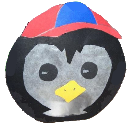 Pinguin-Laterne