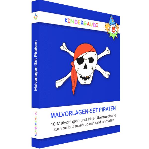 Malvorlagen-Set Piraten