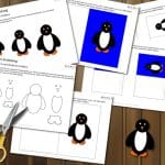 Vorschau Pinguin Einladung