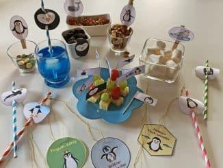 Pinguinfest Partyzubehör